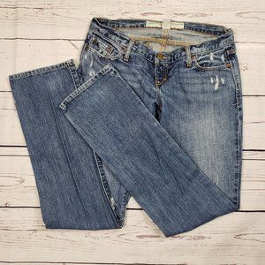 Abercrombie & Fitch Distressed Skinny Jeans 0S